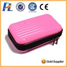 PC waterproof multi color custom hand makeup case empty