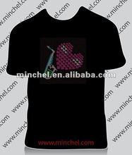 Popular Flashing EL T-shirt