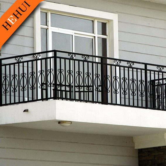 High quality metal balcony grill designs,indoor hand railing YY-C564