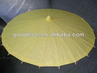 hot sale china umbrella yellow paper umbrella