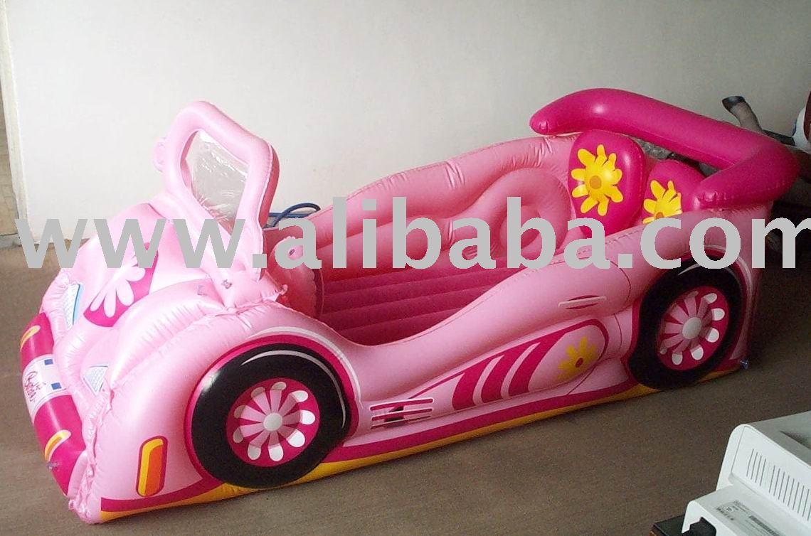 gonflable enfants lit d 39 auto gonflable enfants meubles lit gonflable en forme de voiture. Black Bedroom Furniture Sets. Home Design Ideas