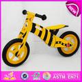 Venta caliente de alta calidad de madera de la bicicleta, popular de equilibrio de madera de la bicicleta, nueva moda de la bicicleta los niños w16c075-1