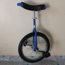 """Motorcycle 24"""" one wheel bike Steel rim Height Adjustable Blue color CE/ASTM F963-11 Approved"""