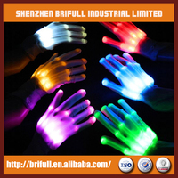 party wholesale supplies led shining gloves cheering product