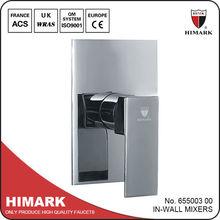 1-Function montado en la pared ducha de lluvia agua piezas de la llave