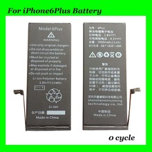 ship in 24 hours ! 0 CYCLE original battery For iPhone 6Plus with 1year warranty