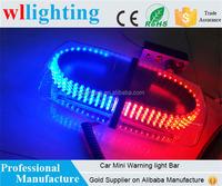 240-LED Emergency Hazard Warning LED Mini Bar Strobe Light w/ Magnetic Base for Car Trailer RV Caravan Boat