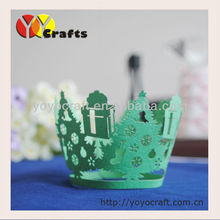 Chrismas Tree Cupcake Wrappers for weddings,Filigree Cupcake wrappers,Laser cut Cupcake wrappers,Baking Paper Cups