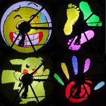 96 LED display 13 pictures and 2 Animation bicycle wheel light