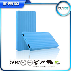 Wholesale Shenzhen mobile power supply slim polymer power bank 4000mah
