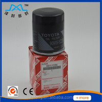Toyota oil filter 04152-yzza1,engine fuel filter,oil filter factory