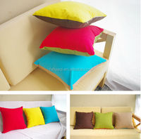 solid color microfiber pillow/body pillow