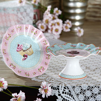 6.25 Inches Elegant Sweet Flower Shaped Cake Stand