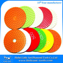 Diamond Tools Exporter selling 100mm wet Diamond Buff pads for egnieered stones
