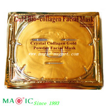 2014 New Cheap High quality gold collagen crystal facial mask