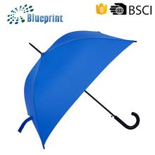 Mango curvo sombrilla cuadrados en forma de paraguas recto para la promoción