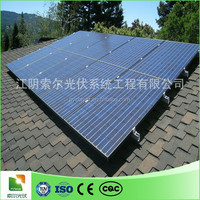 solar panel ground stand/pipe fixing clamp/aluminum solar pv frame