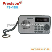 High quality USB/SD/MMC card FM Radio for promotion
