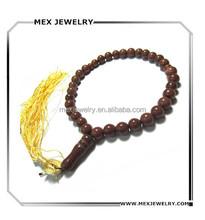 Muslim allah red marble tasbih tassel prayer bead necklace religious jewelry 8mm 10mm