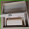 Set of Three Wooden Craft Boxes,Ideal for Painting