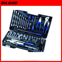 "1/2""&1/4""DR 72PCS tool kit cars repair hand tool set"