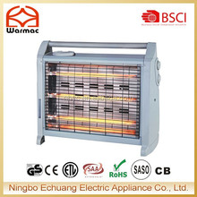electric quartz heater with turbo fan and humidifier