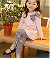 clothing manufacturers overseas cheap kids clothes cute children baby girl cotton outfit children cotton clothing set
