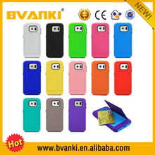 Fashion Style Latest 2 IN 1 combo case for samsung galaxy s6 Factory price mobile phone case for samsung galaxy s6 case alibaba