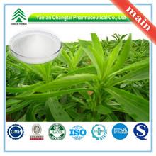 Hersteller liefern gmp-zertifikat 100% reinen natürlichen organischen stevia-extrakt