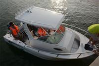 5.8m center cabin fishing boats hardtop for fishing