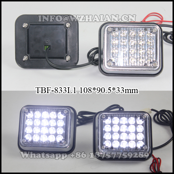 4 inches Led surface mounting ambulance lights