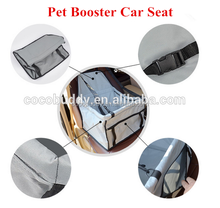 Factory price Durability and convenient dog pet booster car seat wholesale