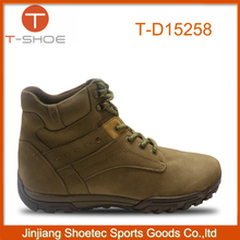 2015 2016 new design brand cheap outdoor shoes for man,leather outdoor shoes manufacturer