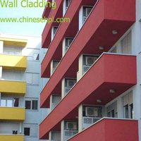 LIJIE exterior wall cladding b1 level fire resistant aluminum composite hpl panel