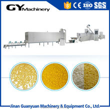 China factory sale color man made rice production line