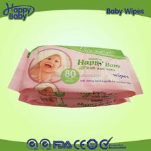 OEM spunlace Disposable skincare handy wet wipes/tissues