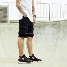SL91 pocket pants tooling shorts men summer terry material sport shorts