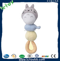 New design hot sale peculiar infant baby toy rattle for christmas