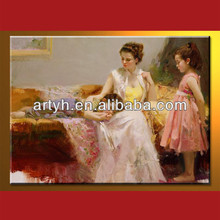 Hot Selling Family Oil Paintings