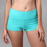 Various colors available women wearing cheap fashion top quality branded hot selling yoga shorts