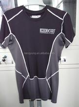 summer leisure fashion men Loose and comfortable mesh blocking short sleeve Top sports short sleeve T shirt men