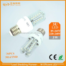 2 years' warranty chinese led bulb G24 led corn light ra80 lighting glass furniture