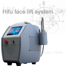 Portable hifu machine / high intensity focused ultrasound hifu for wrinkle removal / hifu face lift