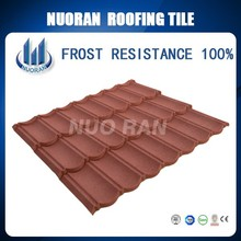 Colorful Stone Coated Metal Villa Roofing/Roof Sheet Metal Prices/Asian Style Roof Material
