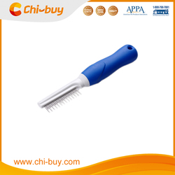 Chi-buy Two Sided Dog Grooming Comb, 42 pins,240*40*17mm
