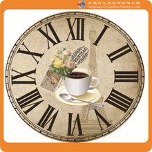 Home products Classic european style 12 Inch Metal Art Wall Clock/clock dials/clock face