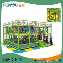 Naughty Castle Chinese Gold Supplier LLDPE PVC Coated Cost Of Indoor Playground Equipment