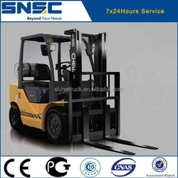 heavy duty forklift truck gasoline forklift truck 2.5tons