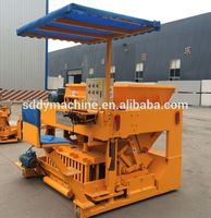 cement hydraform block making machine price for small business