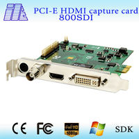 SDI+HDMI+YPbPr + DVI capture card 800SDI